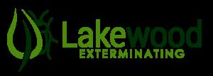 Lakewood Exterminating Logo bug and leaf