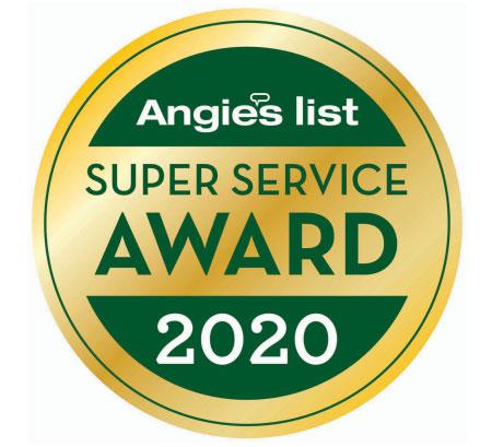 Super Service Award 2020 Lakewood Exterminating